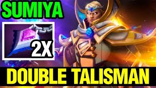 Double Talisman Build Unkillable - Sumiya Invoker 7.14 - Dota 2
