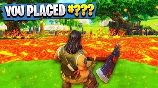 Fortnite Floor Is Lava Challenge!