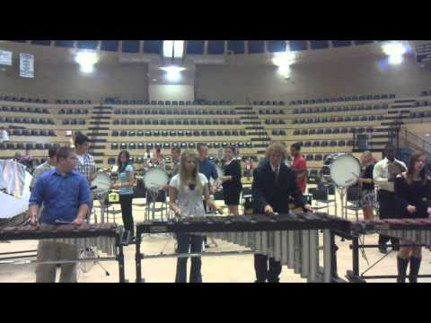 Beggs High School Percussion Band