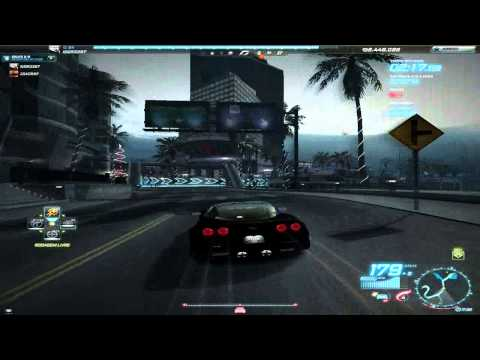 Need for speed world: Corvette Zr1 + Accelorate