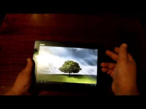 Asus Transformer TF300 Touch Screen Replacement Disassembly