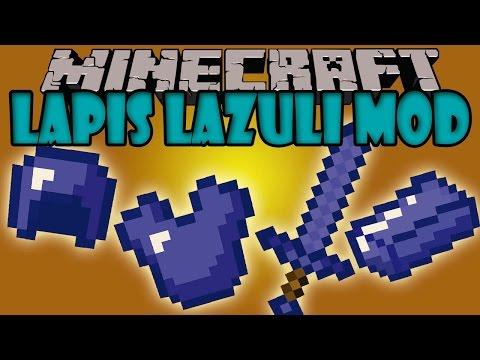 LAPIS LAZULI MOD - Herramientas. armaduras y mas! - Minecraft mod 1.5.2 y 1.6.4 Review ESPAÑOL