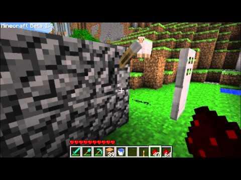 Minecraft tutorial széf kombinációs zár