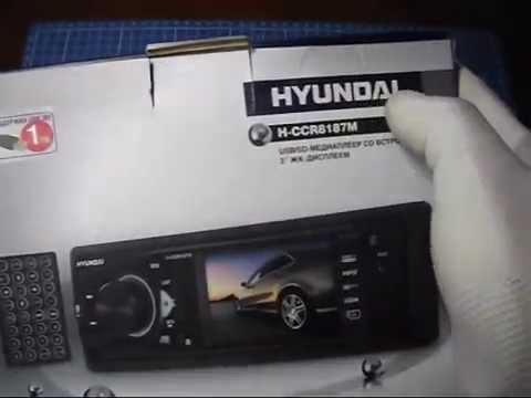 Автомагнитола Hyundai H-CCR8187M