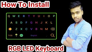Completely new typing experience, best LED light keyboard free for fast typing - Tricky Aditya