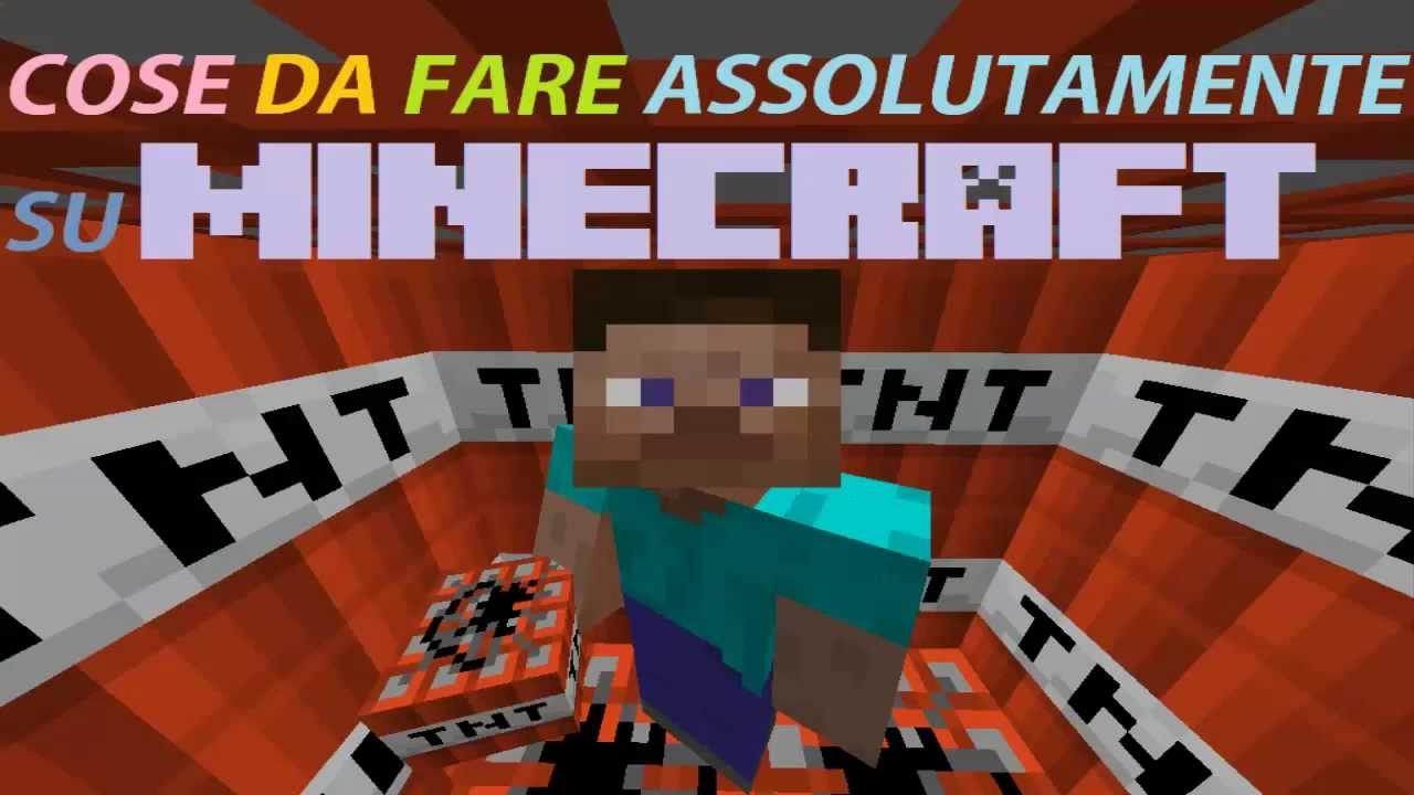 Cose da fare assolutamente su minecraft youtube for Cose semplici da costruire
