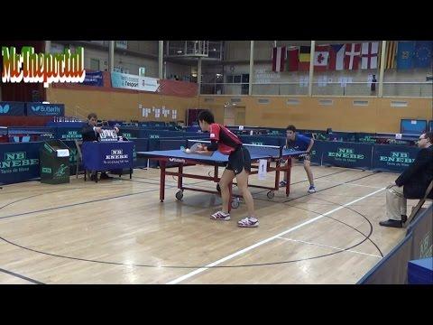 Table Tennis Spanish Open 2016 - Carlo Rossi Vs Yu Kayama -