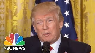 President Donald Trump Insists Russian Meddling 'Had No Impact On Our Votes Whatsoever' | NBC News