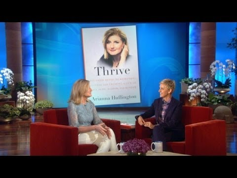 Arianna Huffington Talks 'Thrive'