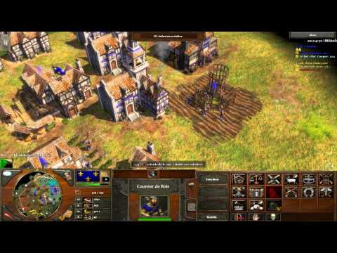 Age of Empires III - Multiplayer Gameplay Deutsch - Gendarme! [Deutsch/HD]