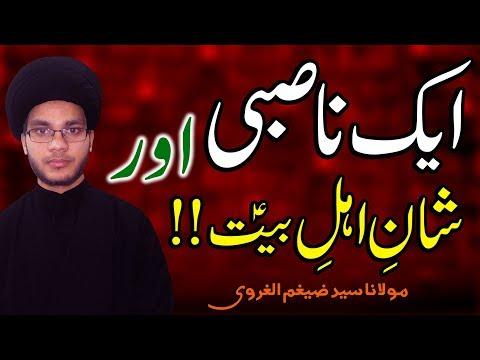 1 Nasibi Aur Shan-E-Ahl-E-Bait (a.s) !! | Maulana Hafiz Zaigham-Al-Gharavi | 4K