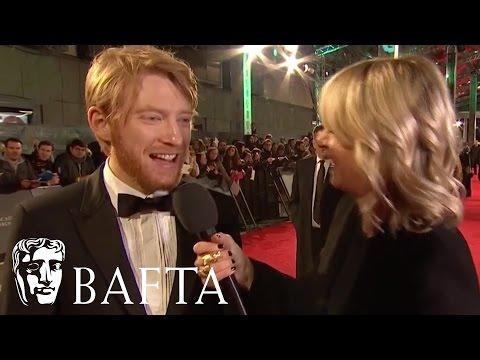 Domhnall Gleeson Red Carpet Interview | BAFTA Film Awards 2016
