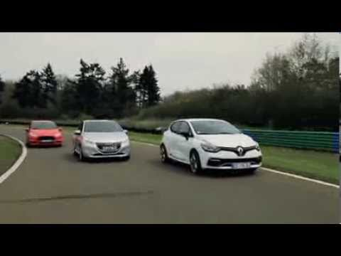 Essai comparatif : Renault Clio R.S. / Peugeot 208 GTi / Ford Fiesta ST
