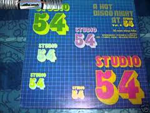 STUDIO 54 - A Hot Disco Night - DJ MIX 3/4 (LP 1982)