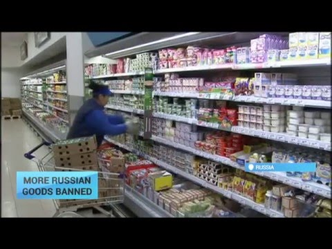 Ukraine Bans More Russian Goods: Response to similar steps taken by Moscow