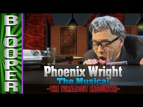 Phoenix Wright Bloopers