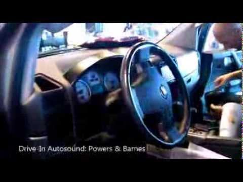 Nissan Titan: In-Dash DVD Player. Speakers. & Subwoofers Installation.