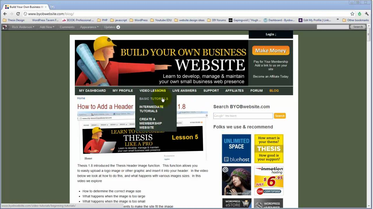 Websites For Thesis