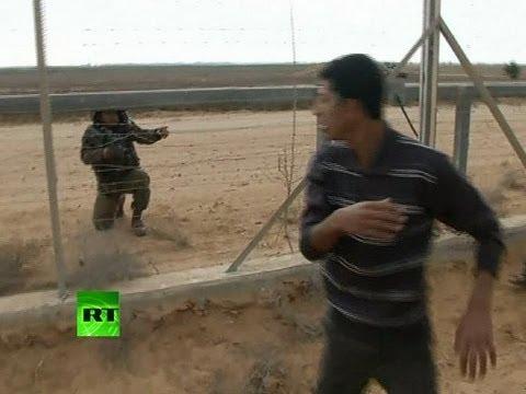 Video: Scene of Gaza-Israel border shooting after IDF kills Palestinian