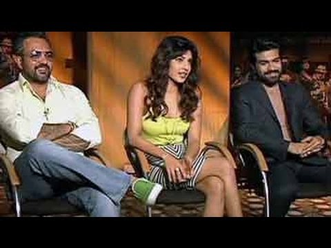 Priyanka And Ram Charan Talk About Zanjeer video