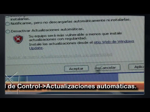 Mantenimiento PC. Actualizar el sistema operativo Update de Windows.