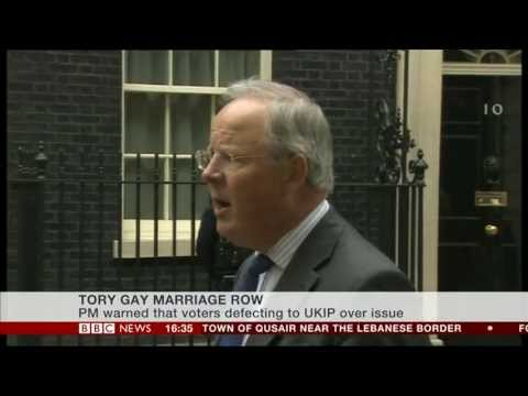 BBC report about anti-gay marriage petition delivered to Downing Street