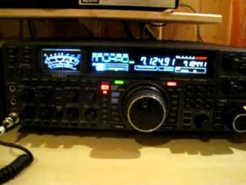 FT 2000      Amateurradio Station aus Mazedonien.avi
