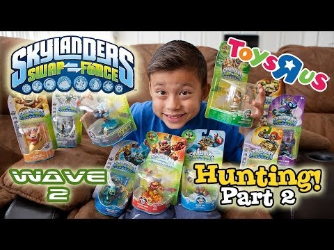 Skylanders SWAP FORCE HUNTING - PART 2 - WAVE 2 available at Toys