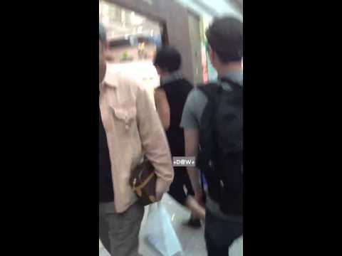 120607 Hoon Min Jae  Icn Airport video