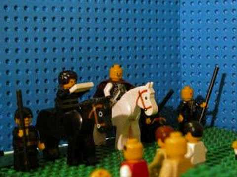 Classic Film Moments (in Lego)