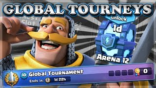 New Update with GLOBAL TOURNAMENTS & More! | | Clash Royale 🍊