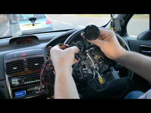 Peugeot 307 Air Bag Removal & Heater Blower Motor Repair Guide. Location of heater in part 2