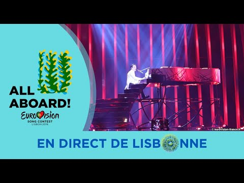 MELOVIN - Ukraine 2nd Rehearsal - Eurovision 2018 Under The Ladder (FULL Rehearsal, HD)