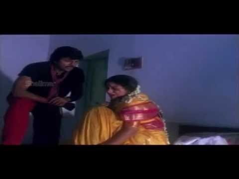 Rowdy Gari Pellam Movie (1991) | Rape Scene Of Shobana By Mohan Babu video