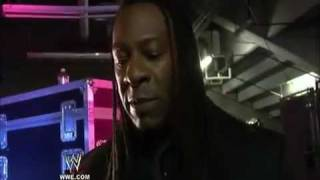 WWE.COM EXCLUSIVE - Booker T speaks on Cody Rhodes water incident!