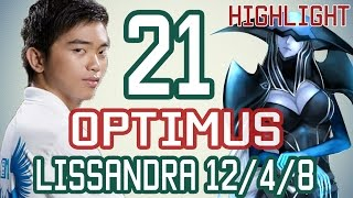 OPTIMUS - LISSANDRA vs TWISTED FATE - Cao Thủ Việt - Highlight