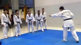 MOTIVATOR Taekwondo black belt Healthy Body and Mind - at Unika Atma Jaya 12 Dec 2015