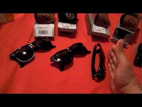RAYBAN WAYFARER COMPARISONS & REVIEWS REAL VS. FAKE (RB 2140 - LARGE SIZE) 2