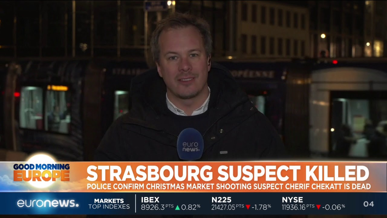 Strasbourg Christmas Market shooting suspect Cherif Chekatt is dead | #GME