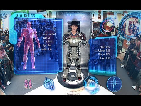 MARVELs BECOME IRON MAN Interactive mini game