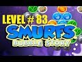 smurf bubble story game level 83 | the lost village game