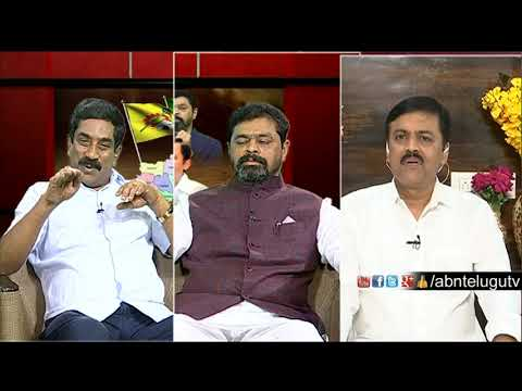 ABN MD Radha Krishna About BJP IT Raids | Big Debate | RK Punch Dialogues | ABN Telugu