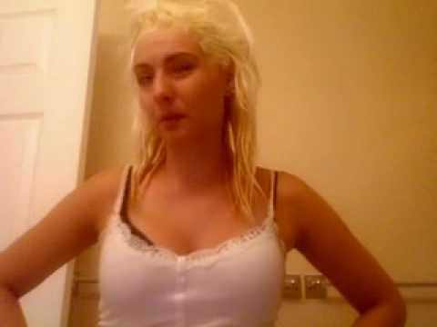 bleaching hair white platinum and touching up roots youtube