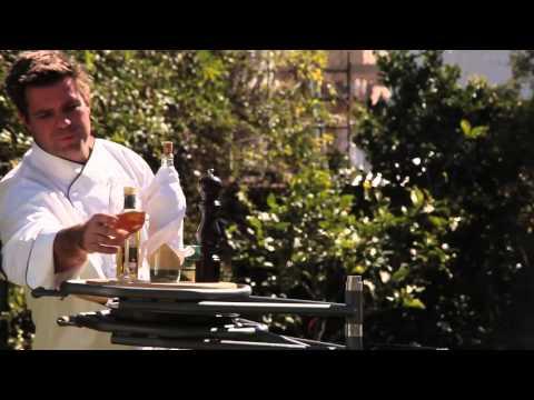 Parrilla Ñuke Trébol - Cocinando pescados y langostinos a la Parrilla