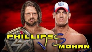 Philips Comedy Video   Latest Troll   Jhon Cena vs AJ Styles Promo Troll   Ft.Phillips and Mohan