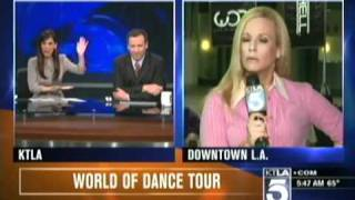 Chris Burrous Allie Mac Kay - Thanks for mentioning my small box (KTLA - April 1st 2011)