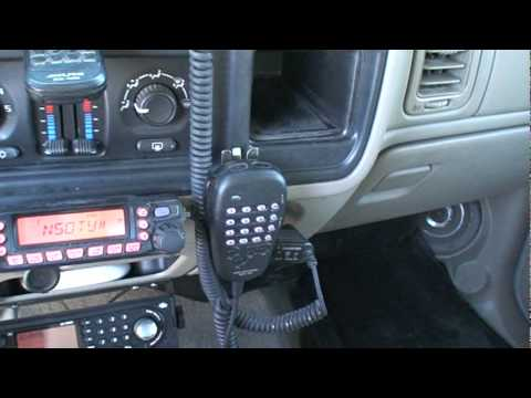 Mobile Amateur radio video #2
