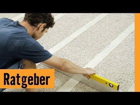 Fußboden Ausgleichen Trocken ~ Scheiss nachbarn flex bohrhammer böden ausgleichen mit