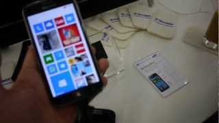 Samsung Ativ S Hands On - Windows Phone 8 Smartphone