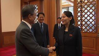 South Korean President Meets With Kim